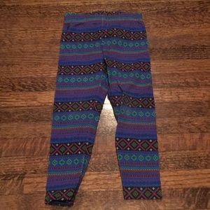 Ralph Lauren fairaisle leggings